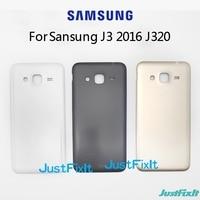 Originale per Samsung Galaxy J3 2016 J320 SM- J320A J320F J320M J320FN coperchio alloggiamento batteria posteriore coperchio sportello batteria coperchio posteriore