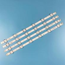 4 قطعة LED شريط إضاءة خلفي ل LG 49 TV 6916L 2862A 6916L 2863A V17 49 R1 + L1 ART3 49UJ670V ZD 49UJ651V LC490DGG(FK)(MD)