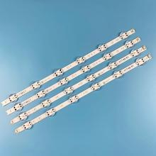 4 adet LED aydınlatmalı şerit LG 49 TV 6916L 2862A 6916L 2863A V17 49 R1 + L1 ART3 49UJ670V ZD 49UJ651V LC490DGG(FK)(MD)