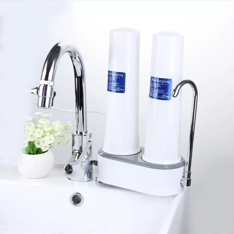 Élimination des polluants de l'eau, robinet de ménage, purificateur d'eau, filtre à eau de cuisine, électrolyte de comptoir facile à installer