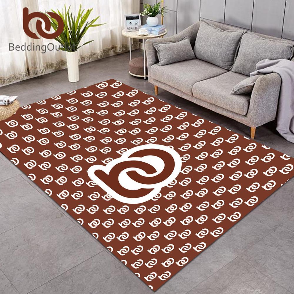 BeddingOutlet Customized Large Carpets For Living Room POD Print On Demand Play Floor Mat Custom Made DIY Bedroom Area Rug