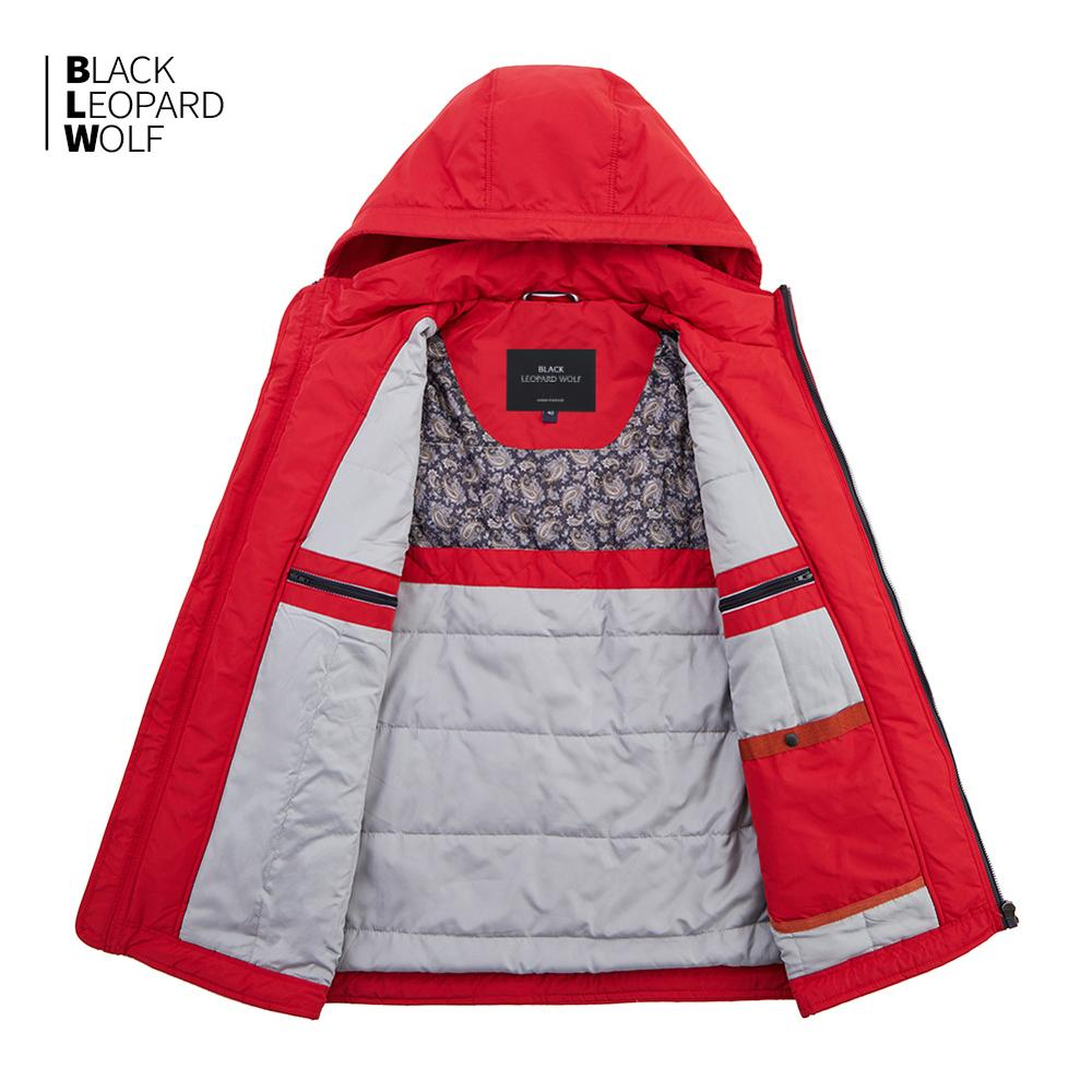 Blackleopardwolf 2019 new arrival down jacket men thick cotton high quality causal parkas winter jacket with a hood MC-81063 3