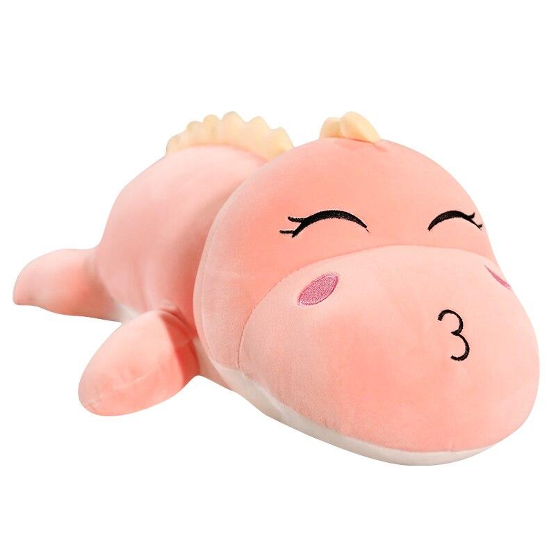 50-120CM Giant Cute Long Dinosaur Plush Toys Soft Cartoon Animal Doll Stuffed Cartoon Boyfriend Pillow Kids Girl Birthday Gift