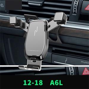 Image 1 - Auto Telefon Halter Für Audi A3 /Q2L /A1 /A4L /A6L /Q5L Air Vent Mount Halterung gewidmet Horizontale und Vertikale Bildschirm Navigation