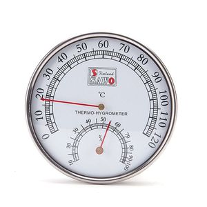 Sauna Thermometer metal Case S