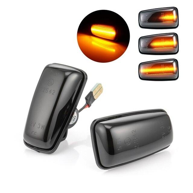 Dynamic LED Side Marker Light Signal Blinker for Citroen Berlingo Jumpy Saxo Xantia Xm ZX Peugeot 106 306 406 806 EXPERT PARTNER