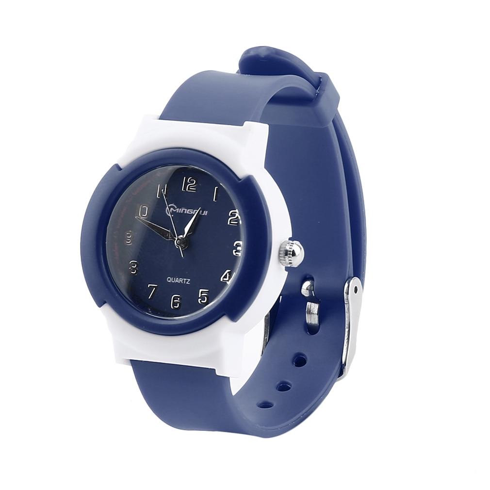 Fashion Waterproof Jelly Watch Watches Women LED Digital Electronic Quartz Wristwatch Watch 8 Colors Best Gift