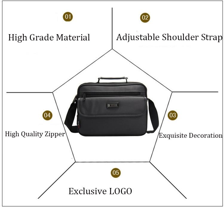 Hcf66f7b6ee244c6cb56697f3af2a6f12Q 2019 New Briefcases Of Sizes Men's Laptop Bag Top Quality Waterproof Men bags Business Package Shoulder Bag masculina briefcase