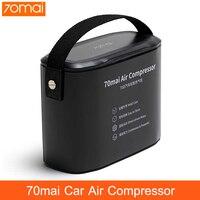 Original 70mai Air Compressor Tire Inflator Auto Tyre Pumb 70 MAI Protable Electric Car Air Pump Mini Vompressor 12V