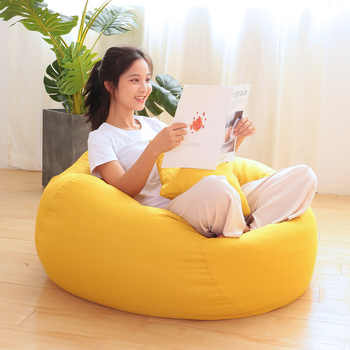 Bean Bag Sofa Lazy Lounger Chair Soft BeanBag Bed Pouf Couch Tatami Memory Foam Filled Furniture and Accessories for Dorm Room - DISCOUNT ITEM  20 OFF Furniture