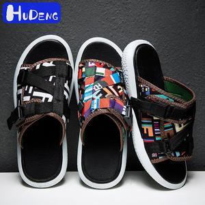 Image 5 - Brand New Hot Sell Summer Slippers Men Breathable Flip Flops Quick Drying Mens Beach Shoes Fashion Cool Sandalias Men Pantufa