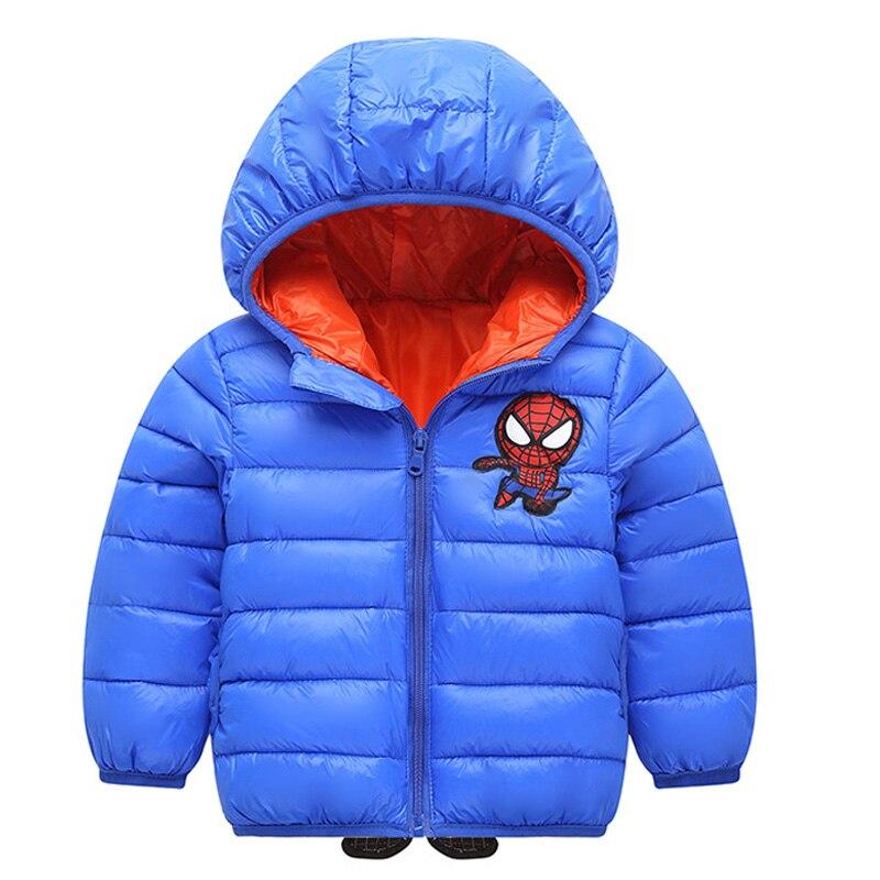 Autumn-Winter-2019-New-Boys-Cotton-Short-Jacket-Girls-Hooded-Zipper-Outerwear-Children-Spiderman-Heavyweigh-Clothes (1)