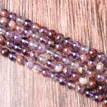 Hot Sale Natural Stone Purple Ghost Beads 15.5 Pick Size: 4 6 8 10 mm fit Diy Charms Beads Jewelry Making Accessories