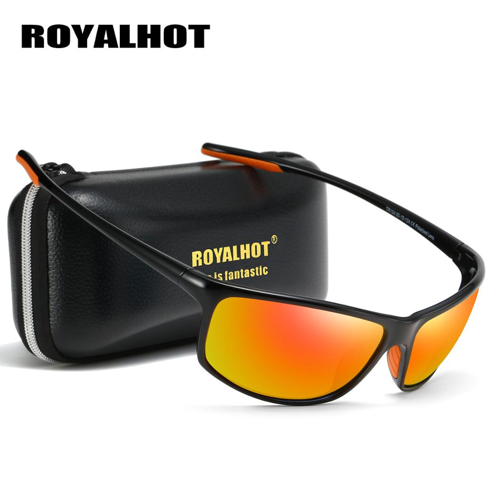RoyalHot Brand Unisex Polarized Sport Sunglasses Men Driving Shades Male Sun Glasses Driving Travel Fishing Classic Sun Glasses