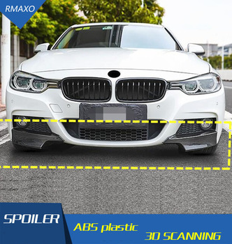 For F30 F35 Body kit spoiler 2012-2017 For B MW BJ 320i 320li  ABS Rear lip rear spoiler front Bumper Diffuser Bumpers Protector