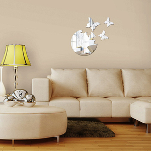 Plastic 3d Butterfly Wall Deco