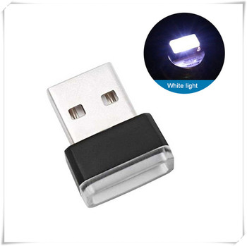 Car Accessories Atmosphere Light USB LED Mini for BMW F10 F30 E60 Ford Focus 2 3 Fiesta image