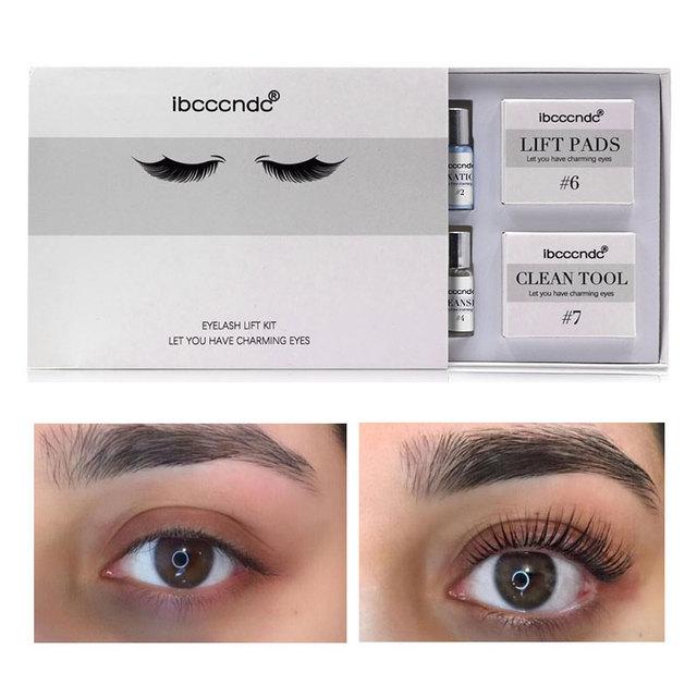 Eye Lash & Brow Lift Perming Eyelash Lift Extension Kit Curling Eye lash Glue Wave Lotion for Home Use Beauty Salon Dropshipping 2
