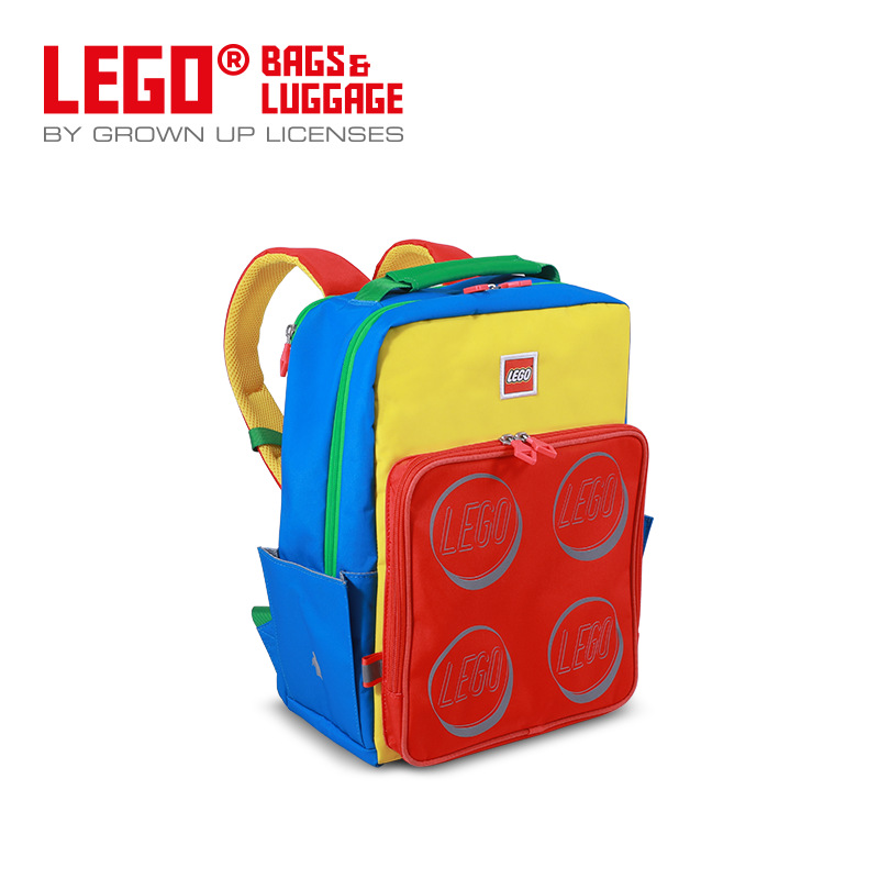 Lego LEGO New Style Large Capacity Backpack Fashion Casual Schoolbag Burden Relieving Travel 20135
