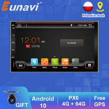 Multimedia-Player Gps-Tracker Car-Radio Auto Audio Universal Android10 Eunavi 2-Din Stereo