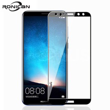 все цены на Protective Tempered Glass For Huawei Mate 20 Pro Lite X 20X Mate 10 Pro 9 Lite P Smart 2019 Full Cover Screen Protector Film