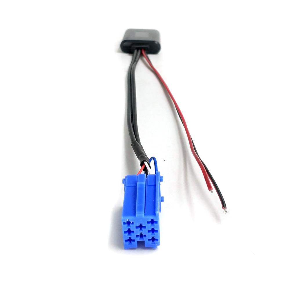 Автомобильный Bluetooth аудио Aux-Кабель-адаптер Biurlink для Benz Smart 450 Mini, 8-контактный разъем