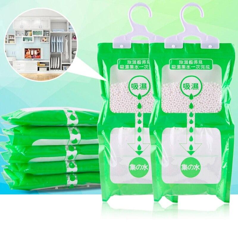 Desiccant Bag Household Wardrobe Closet Hanging Moisture Absorbent Dehumidizer Au08 19 Dropship