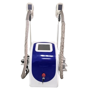 CE certified multi-pole vacuum RF cavitation freezing slimming machine beauty salon