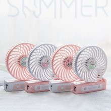 Cartoon Flamingo Hand-held Desk Fan Cooler Handheld Air Conditioner Cooling Fan Summer Air Conditioner Cooler mini portable cooling fan hand battery fan cute held desk cooler air conditioner smaller air appliance machine for travel