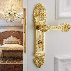 Zamek do drzwi ze stali nierdzewnej Split klamki do zamków wewnętrznego drzwiowego wyciszenie zamka drzwi antywłamaniowych do pokoju