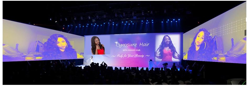 Hcf694d69bb1f473db4e77e2ca34f73f95 Cynosure Brazilian Hair Weave 3 Bundles With Closure Double Weft Body Wave Human Hair Bundles With Closure Remy Medium Ratio