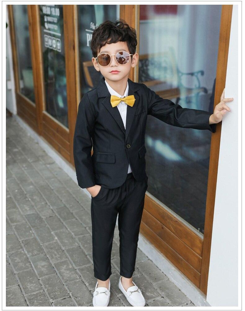 Dollplus/ г. Модная детская одежда для мальчиков, комплект из 2 предметов, пиджак+ брюки, одежда для джентльменов топы, костюмы для досуга, официальная одежда, костюм, блейзеры, костюмы