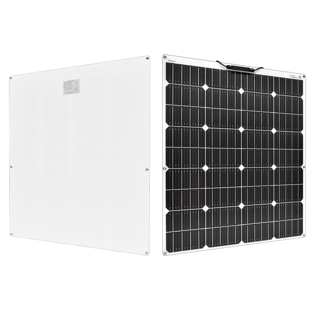 NEW 150W Flexible Solar Panel with 20A Controller No Inverter 2