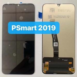 """Image 3 - 새로운 6.21 """"화웨이 P 스마트 2019 LCD 디스플레이 스크린 + 터치 패널 디지타이저 POT LX1/POT LX1AF/POT LX2J 프레임"""