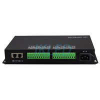led 8 ports artnet controller 32 universes 5440 pixels Madrix controller,DMX to SPI,support LAN synchrony,SD card,DMX512 console