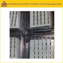50 шт. для iPhone XR XS MAX X XS 7 8 4 5 6 Plus 6s plus 7P 8P 6s внутренний шлейф динамика анти гриль с защитой от пыли прокладка с сеткой клей