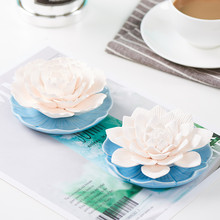 Car accessories fragrant stone accessories gypsum fragrance adding fragrance ceramic base indoor accessories