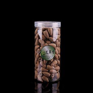 Около 200 шт. в пластиковой коробке Смешанные конусы для благовоний с обратным потоком сандаловое дерево Жасмин Роза дым конус рефлюкс башня благовония пуля