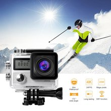 Sport Cameras 4k Ultra HD Wifi 2.0 Inch 170 wide Angle Lens Waterproof Car DVR Sports Dv Outdoor Diving Bicycle Camcorder