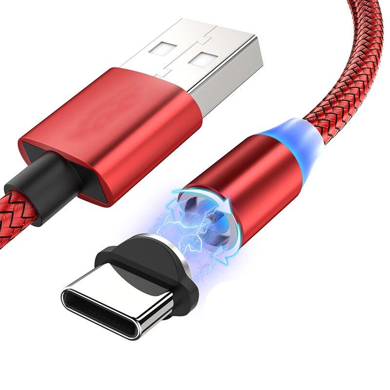 Cable magnético de carga rápida, Cable USB tipo C para Xiaomi 6 8 9 SE lite 9T 10 Pro para Redmi 4X 5 Plus 5A 6 6A 7A, Cable Micro USB 6 V 5A AC 100-240V DC adaptador de corriente Universal 6V5A AC DC adaptador de 6 voltios adaptador de conmutación de la UE nos Reino Unido es cable de enchufe de 5,5mm * 2,1-2,5mm