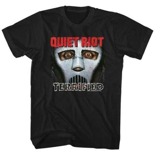 QUIET RIOT Heavy Metal Band Glam Rock <font><b>Randy</b></font> <font><b>Rhoads</b></font> Concert Tour Adult T-Shirt 11 Cotton Tee Shirts For Men image