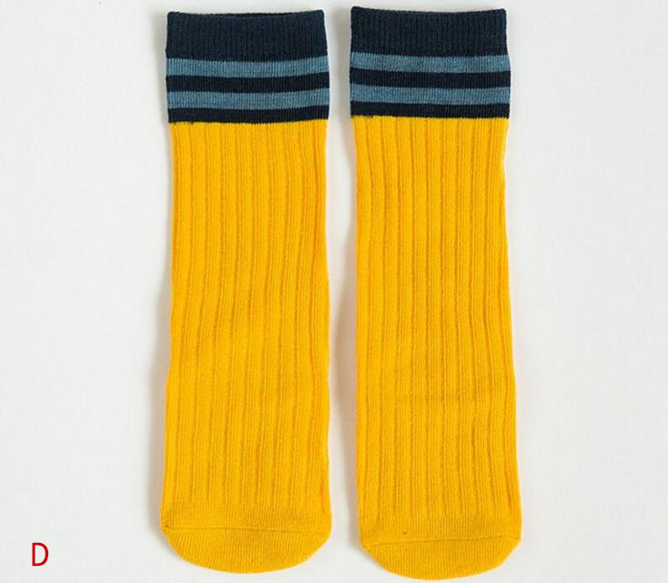 yellow sock