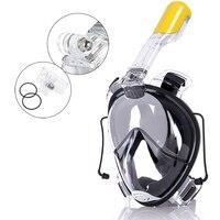 New Design Diving Mask Scuba Mask Underwater Anti Fog Full Face Snorkeling Mask Women Men Kids Swimming Snorkel Diving Equipmet