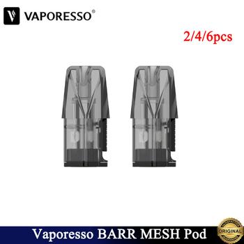 2 4 6 sztuk oryginalny Vaporesso BARR Pod 1 2ml kaseta Vape z 1 2ohm cewka z siatką do elektronicznego papierosa Vaporesso BARR Pod zestaw tanie i dobre opinie CN (pochodzenie) Z tworzywa sztucznego Niewymienne Vaporesso BARR Pod Kit 1 2ohm mesh coil