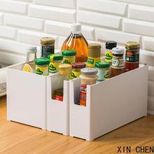 Kitchen Spice Organizer Tableware Storage Box  Drawer Cabinet Storage Containers Plastic Box  Case Bathroom Makeup Organizer
