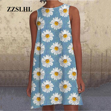 New Women Dress Fashion Sexy Multi-Color Printed Summer Loos