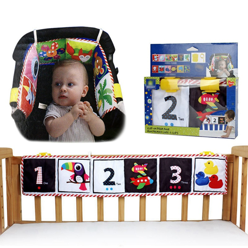 Newborn Canvas Bed Baby Cartoon Ruffle Cloth Book Animal Puzzle Music Toys Perfect For Kids Infants Education Development