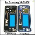 Корпус Шасси средней пластины с боковой кнопкой средней рамки металлический корпус средней пластины для samsung Galaxy S9 G960 G960F