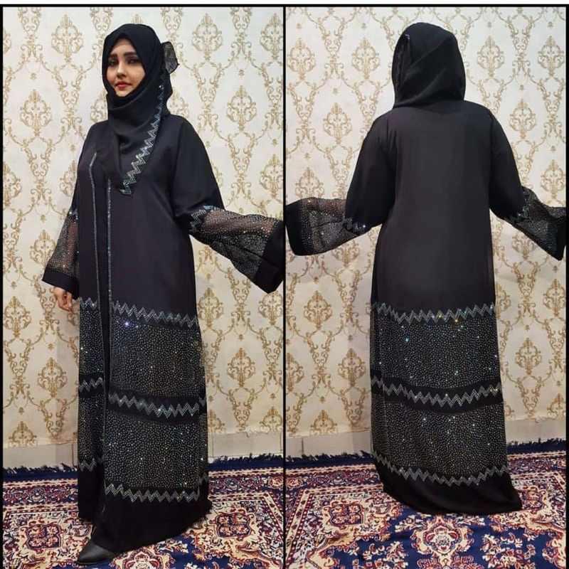 라마단 이드 무바라크 Abaya 두바이 Femme 터키어 럭셔리 Hijab 이슬람 드레스 아프리카 드레스 여성을위한 Abayas Kaftan 이슬람 의류