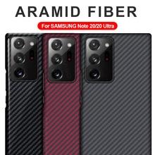 GRMA Cao Cấp Thật Nguyên Chất Sợi Carbon Dành Cho SAMSUNG Note20 S20 Cực S10 Plus S10e Ốp Lưng Dành Cho Samsung Galaxy SAMSUNG Galaxy Z lật SM F7000 Ốp Lưng